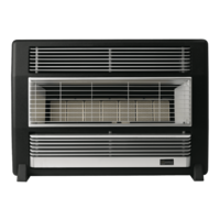 Everdure BRFNGSS Brigadier Black Stainless Silver Natural Gas Heater
