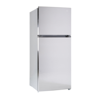 CHiQ CTM434S 435L Top Mount Stainless Steel Inverter System Fridge