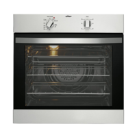 Chef CVE612SA 60cm Electric Built-In Oven Stainless Steel