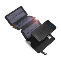Cygnett CY2805PBCHE Chargeup Explorer 8000mAh Power Bank with Detachable Solar Panels