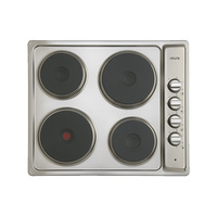 Euro Appliances ECT600ESS 60cm Electric Cooktop