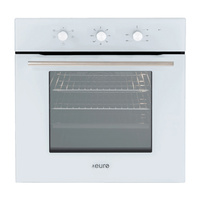 Euro Appliances EO604WH 60cm White Fan Forced Oven