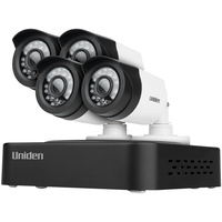 Uniden GDVR10440 Guardian DVR Security System with FHD 1080P Technology - 4 cameras