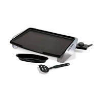 George Foreman GREG10 Silver Electric Griddle