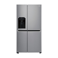 LG GSL668PNL 668L Side by Side Fridge