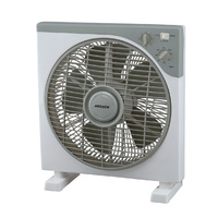 Heller HBOX30S 30cm Box Fan With 3 Speed Settings & Timer