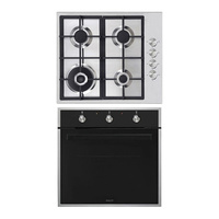 Inalto IOG6 Fan Forced Oven & Gas Cooktop