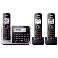 Panasonic KX-TG7893AZS 3 Handset Digital Cordless Telephone
