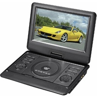 Lenoxx PDVD1000 10inch Portable DVD Player Black