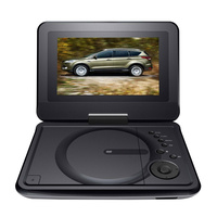 Lenoxx PDVD700 7inch Portable DVD Player Black