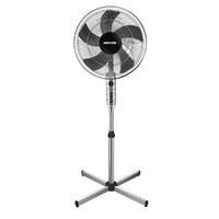 Heller PED45CG Pedestal Fan 3 (Chrome) Speed Settings