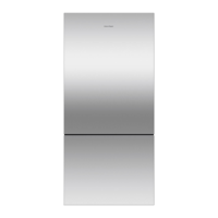 Fisher & Paykel RF522BRPX6 519L ActiveSmart Bottom Mount Fridge