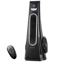 Heller TTF75R Turbo Tower Fan with Remote