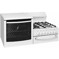 Westinghouse WDG103WANGL Elevated Gas Oven with Wok Burners
