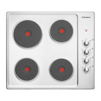 Westinghouse WHS642SA 60cm Electric Solid Cooktop