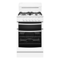 Westinghouse WLG503WBNG 54cm Freestanding Natural Gas Oven/Stove
