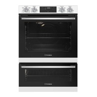 Westinghouse WVE625WC 60cm 8/5 Duo Oven, White