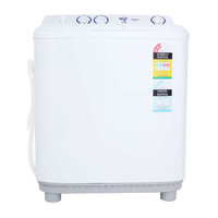 Haier XPB60287S 6kg White Top Load Twin Tub Washer