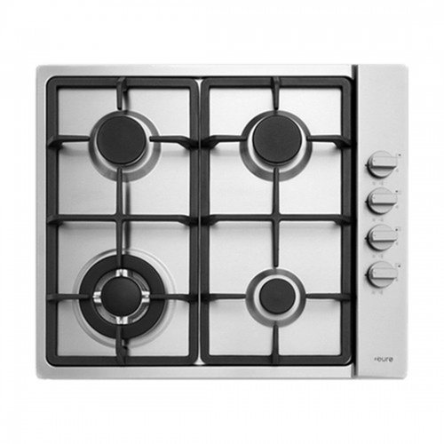 Euro Appliances ECT60GX Stainless Steel 60cm Gas Cooktop