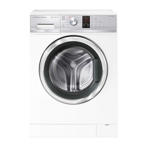 Fisher & Paykel WH8060J3 8kg White Front Loader Washing Machine
